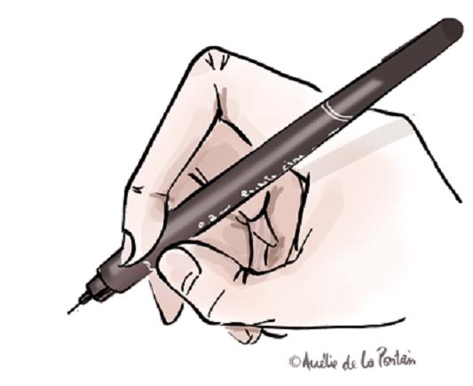 211 dessin main Ode à ma main (la droite)