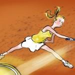 Illustration du tennis mois de Juin 150x150 Mareine Création