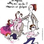 Illustration du texte « Mamans faites une pause» 150x150 Edifa