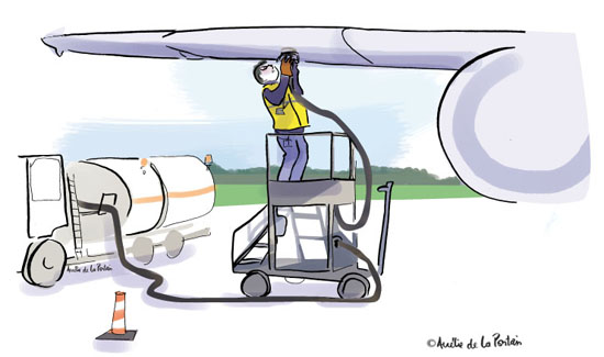 11 DESSINS 9 Aéroport du Grand Ouest