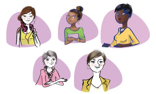 Illustrations pour le site Amielle