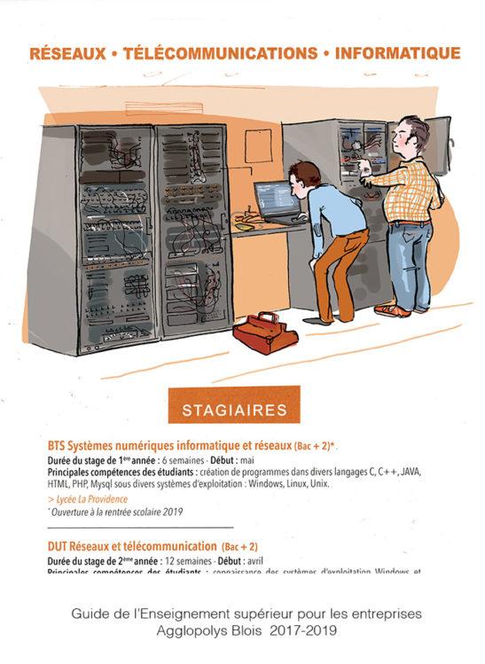 Chapitre réseaux télécommunication, informatique