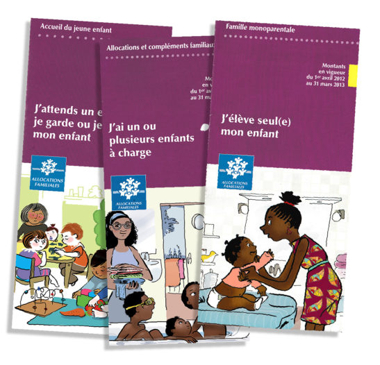 Illustrations des leaflets