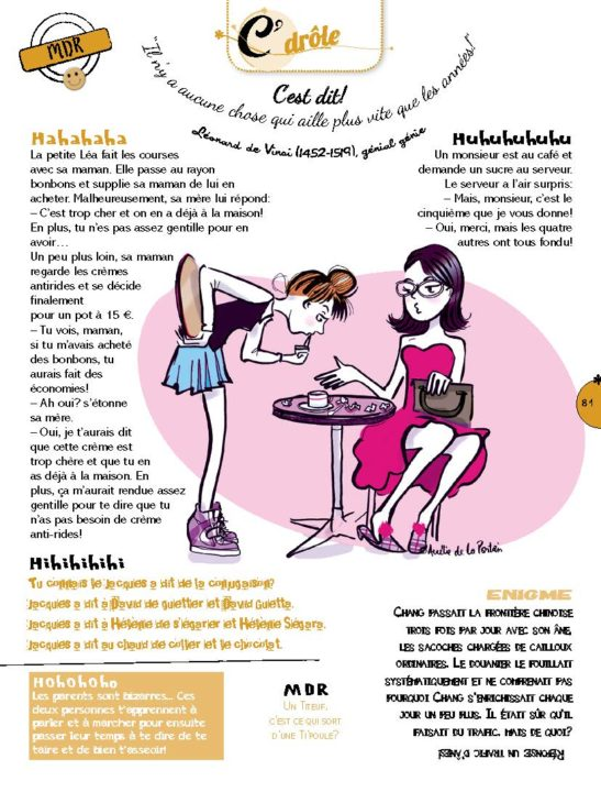 Magazine Disney Girl, Rubrique Cdrôle