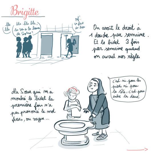 L'histoire de Brigitte