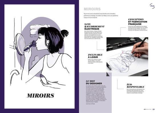 Catalogue JVD rubrique Miroir